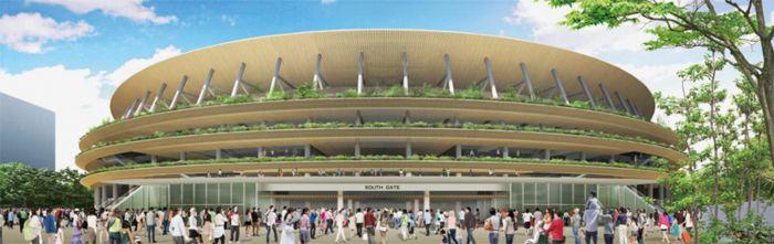 弃用扎哈方案之后 东京奥运会主场馆新设计方案更胜一
