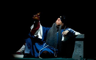 国家京剧院《伏生》首演 奚派老生对戏裘派花脸