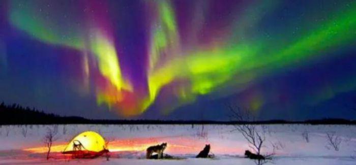 一生一次的极光之旅 看看这神秘的夜空之舞