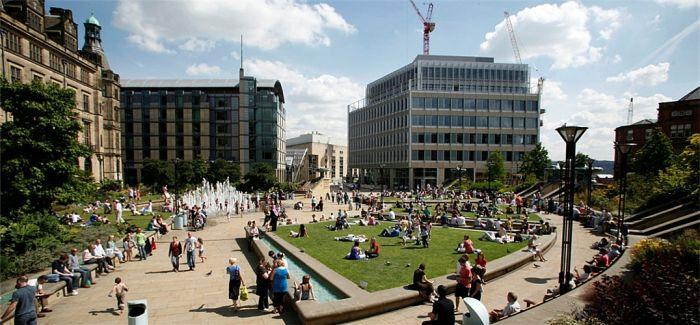 英国最大的教学楼:谢菲尔德大学钻石大楼