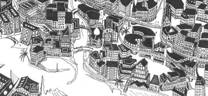 艺术家花费5年 一边环游世界 一边用纸笔建造了一座城