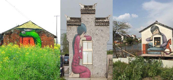 """法国艺术家明年要在全中国""""为爱上色"""""""