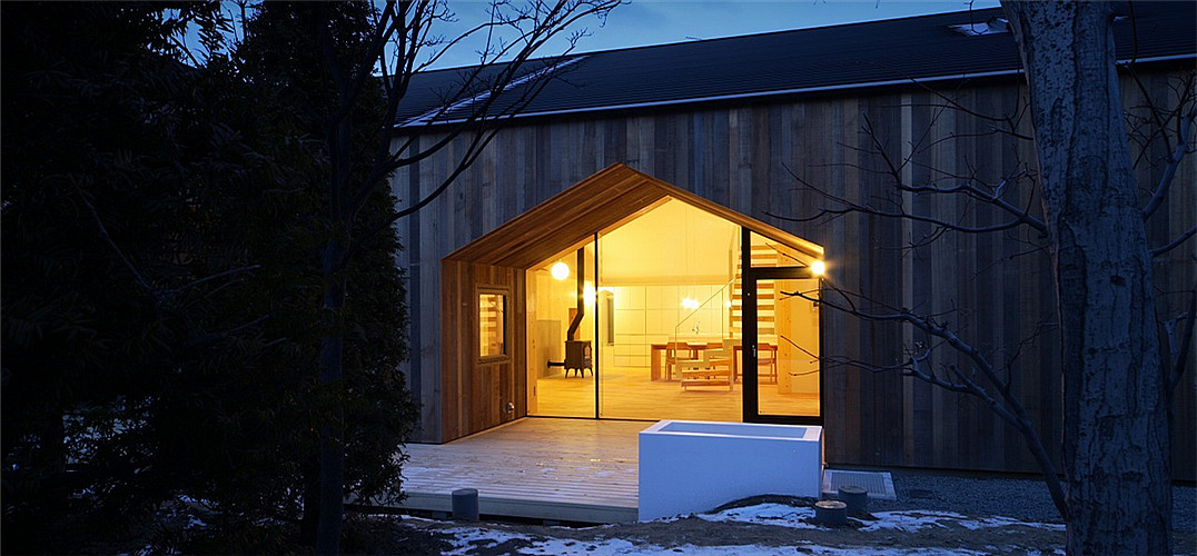 """""""房中房"""":位于日本北海道房子中的小村落"""