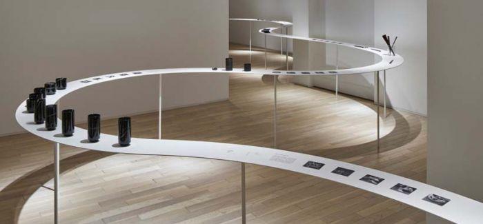 """nendo 居然在美术馆里做了一条""""蛇"""""""