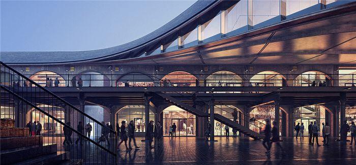 英国老建筑魅力难挡 伦敦老煤厂变身购物中心