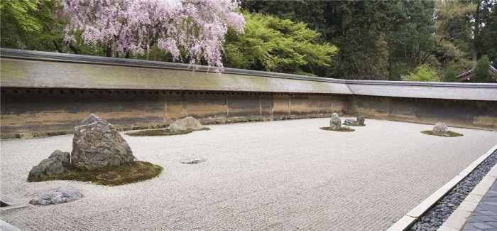 枯山水:日本造园的极致 充满禅意的侘寂之美
