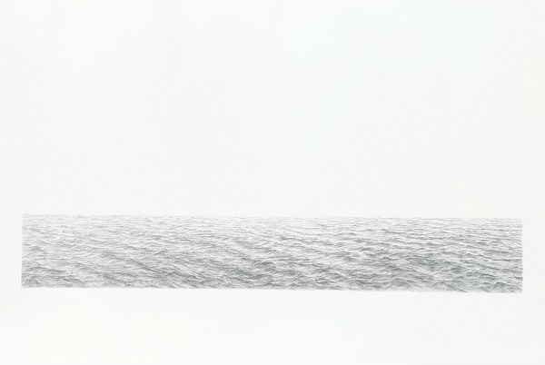 维雅·塞尔敏斯《无尽的海洋》(1973) 图片:Courtesy of Sotheby's