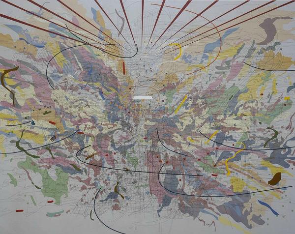 朱莉·玛芮图《回望美好未来》(2003) 图片:Courtesy of The Modern Art Notes Podcast