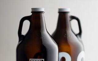 STEEL & OAK 啤酒包装酒瓶设计