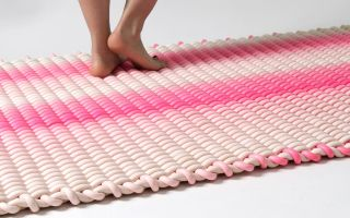 非同寻常的编织地毯