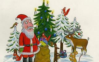 圣诞狂欢时间已到 送你一批high-level祝福卡片