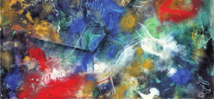 云南现代重彩画:视觉美感与浪漫情怀的展示