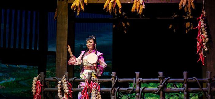 土家乡村音乐剧《黄四姐》进京首演引起轰动