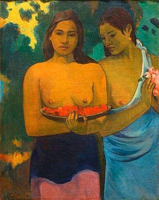 Manao Tupapau,1892, Paul Gaugu