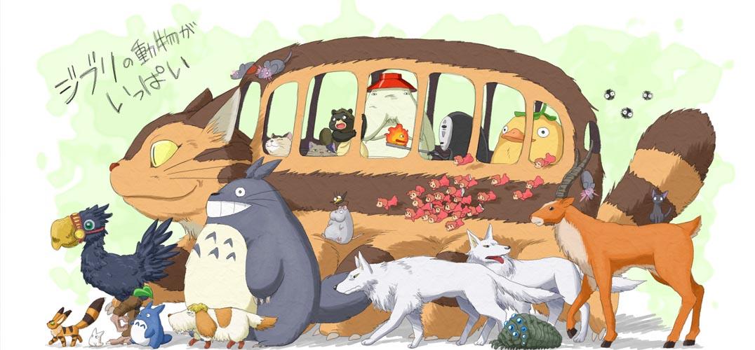 """他是宫崎骏最爱的男人 画出如诗般的""""龙猫森林"""""""