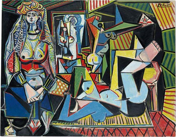 """保羅·畢加索的《阿爾及爾的女人(""""O版"""")》"""