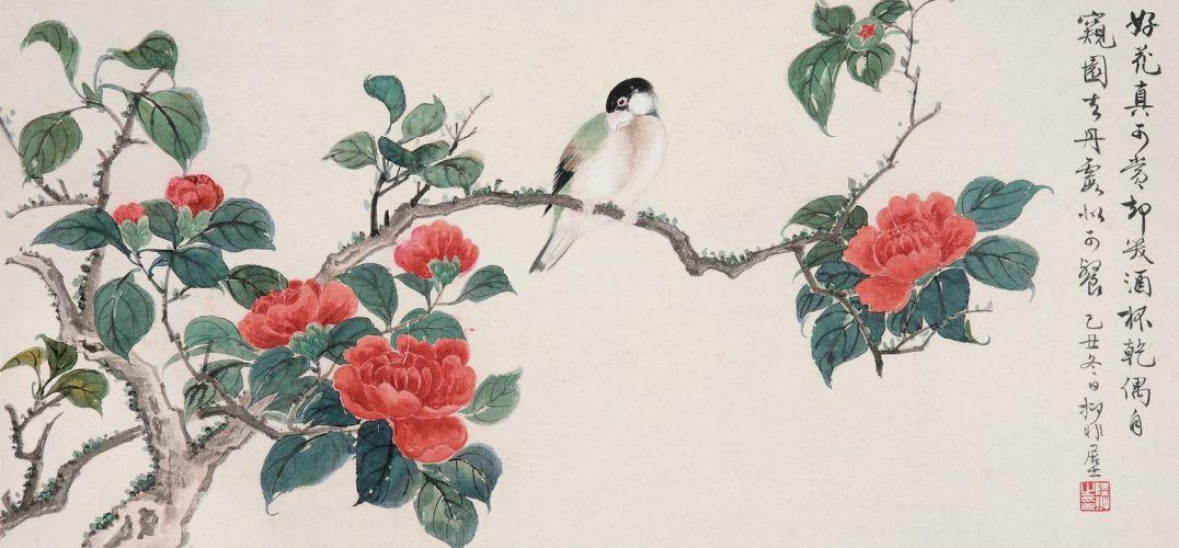 国画兰花的花的画法步骤