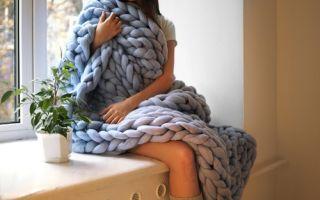乌克兰的美女设计师ANNA MO编织的粗大毛毯OHHIO