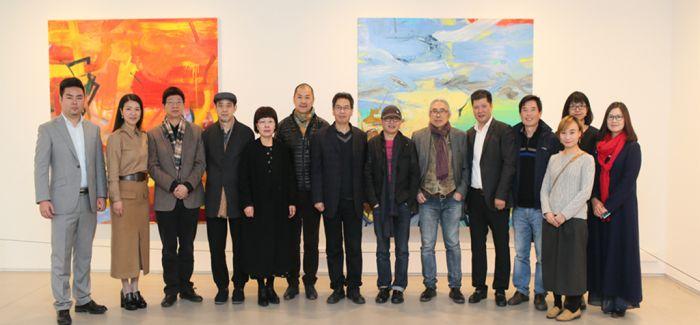 """""""超越形式""""亮相年代美术馆 集中展示中国抽象艺术新成果"""