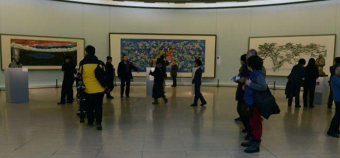 """""""写意中国——2015中国国家画院年展""""在中国美术馆隆重开幕"""
