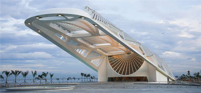 """""""未来星际战舰"""":巴西明日博物馆"""
