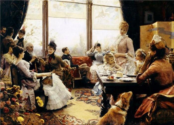 【茶之美】10幅名画中的英式下午茶