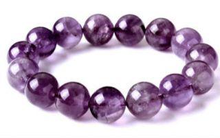 紫水晶的真假鉴别