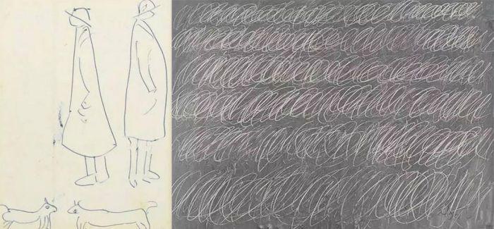 """这两幅""""火柴人""""画作 最近在伦敦居然卖出了15万"""