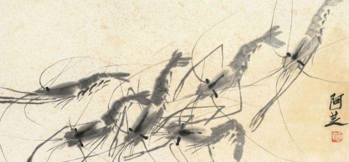 中国现代美术史上的里程碑:齐白石《五蝠行云图》