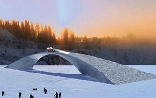 """世界上最大型最长""""达·芬奇冰桥""""将在荷兰诞生"""