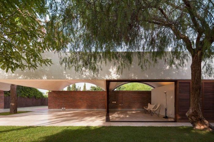 设计图分享 院子围墙图片  宽568×426高 坪护栏围墙护栏花坛护栏_pvc