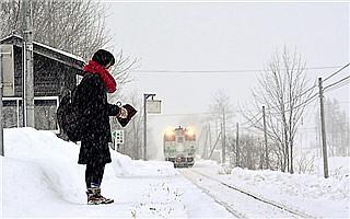 这个位于北海道的车站列车 只为一个女孩而行驶!