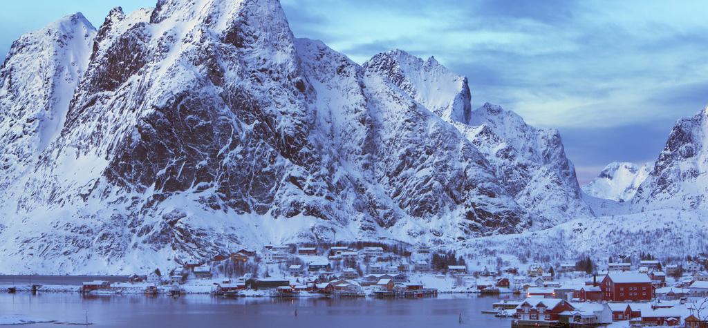 而罗弗敦堪称全世界最大也是最佳的天然冷水渔场之一