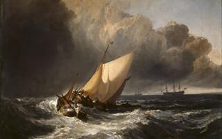 透纳的作品是否留在英国 都不会影响他的伟大