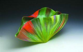 美国玻璃艺术天后图兹·詹斯基在琉璃艺术博物馆办展