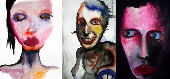 用双性恋的视角 细数那些会画画的摇滚主唱