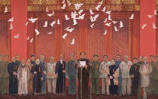 《新中国诞生》等多件作品入藏国博馆藏现代经典美术作品展