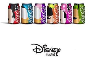 当迪士尼遇上可口可乐