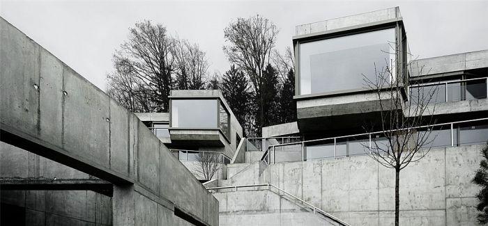 瑞士阿劳HUNGERBERG山坡混凝土集合住宅