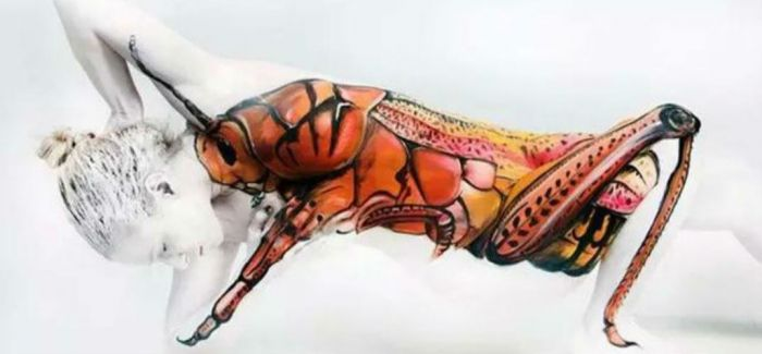 不可思议的人体艺术,惊呆