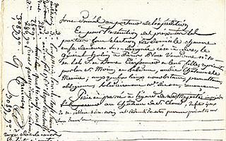 附有拿破仑夫妇签名的婚约将于情人节当天拍卖