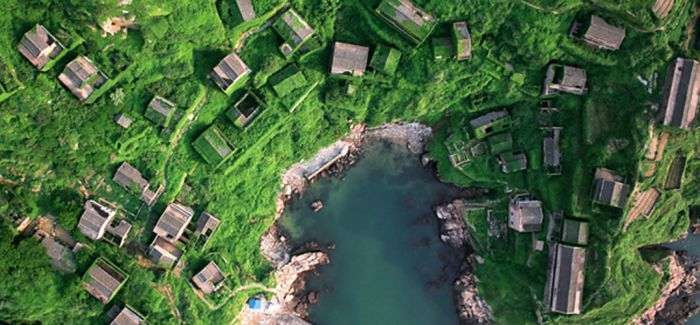 航拍镜头下的中国