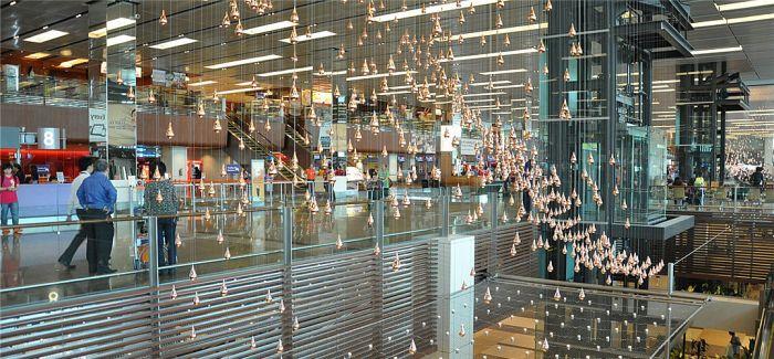 机场与艺术相遇 盘点全球机场最吸睛艺术品