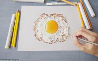 这些都是画吗 印度艺术家逆天3D立体手绘