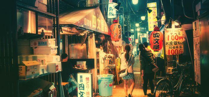 像吉卜力动画一样的东京夜色:摄影爱好者徘徊许久之作