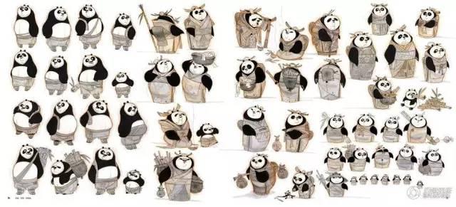 《功夫熊猫3》概念设计图提前曝光 帅呆了!