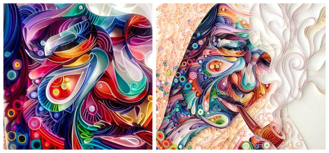 衍纸艺术作品(资料图来自网络)  衍纸艺术作品(资料图来自网络)  衍纸艺术作品(资料图来自网络) 衍纸艺术:这种艺术形式是利用纸条,将之卷起,塑形和粘合的一种装饰性的设计。衍纸艺术在文艺复兴时期与18世纪时是一种非常常见的表达形式,这种艺术形式的复苏很受大众欢迎。 Sena Runa来自伊斯坦布尔,曾经是一位人力资源专家,有着稳定的收入。然而为了追求更有趣的生活方式,Sena Runa辞掉了工作,开始了一个全新的艺术之旅。她爱上了一种称作衍纸的艺术,该艺术形式发源于18世纪的英国,是流传于英国王室贵族