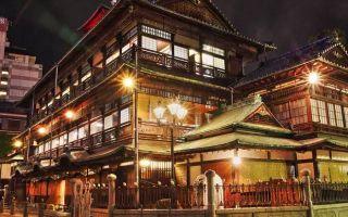 日本最古老的温泉 据传圣德太子都曾在此入浴