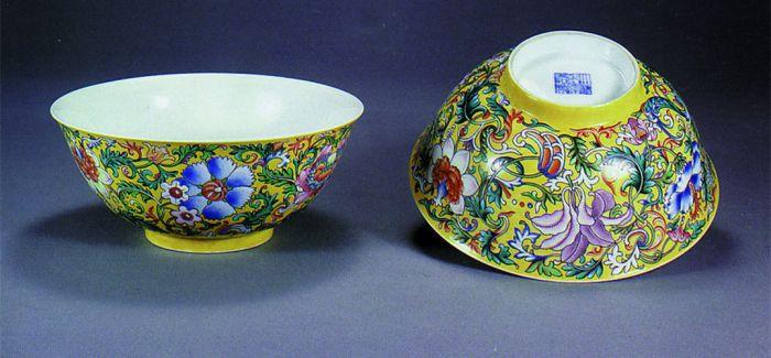 300年前的瓷器出口的竞争