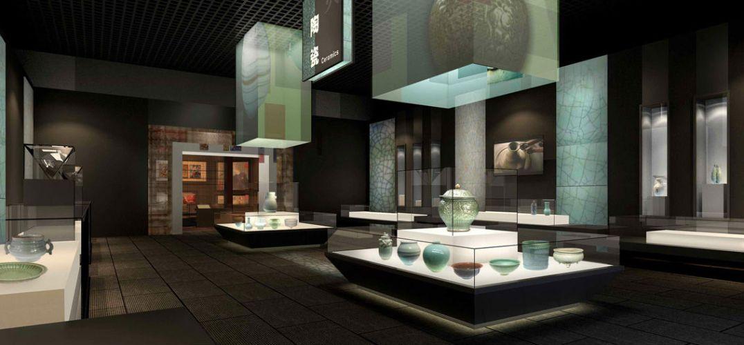 手工作品展厅设计案例